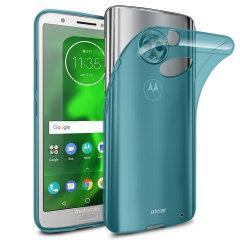 Olixar FlexiShield Motorola Moto G6 Plus Gel Case - Blue