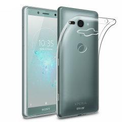 Olixar Ultra-Thin Sony Xperia XZ2 Compact Gel Hülle - 100% Klar