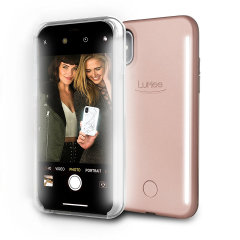 LuMee Duo iPhone X Double-Sided Lighting Case - Rose