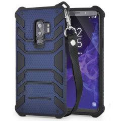 Samsung Galaxy S9 Plus Lanyard Case - Navy - Olixar Laminar