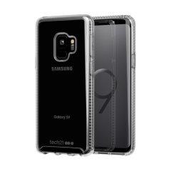Tech21 Pure Clear Samsung Galaxy S9 Case - Clear