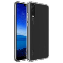 Custom moulded for the Huawei P20, this crystal clear Olixar ExoShield tough case provides a slim fitting, stylish design and reinforced corner protection against shock damage, keeping your device looking great at all times.