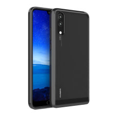 Olixar ExoShield Tough Snap-on Huawei P20 Case - Black / Clear