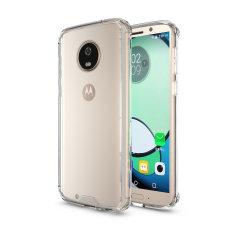 Olixar ExoShield Tough Snap-on Motorola Moto G6 Case - Crystal Clear