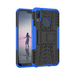 Protect your Huawei P20 Lite from bumps and scrapes with this blue ArmourDillo case. Comprised of an inner TPU case and outer impact-resistant exoskeleton, the Armourdillo not only offers sturdy and robust protection, but also a sleek modern styling.