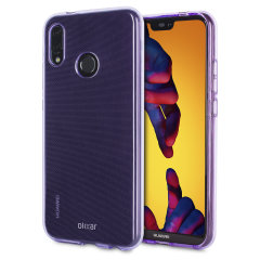 Custom moulded for the Huawei P20 Lite, this purple Olixar FlexiShield case provides slim fitting and durable protection against damage.