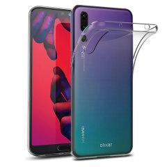 Skräddarsydd till din Huawei P20 Pro. Det här FlexiShieldskalet kommer från Olixar och erbjuder en smal passform och ett hållbart skydd mot skador.