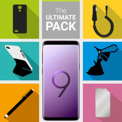 The Ultimate Pack for the Samsung Galaxy S9 consists of fantastic must have accessories designed specifically for the Galaxy S9.