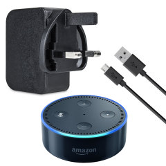 Amazon Echo Dot Power Adapter and 1m Cable - Black