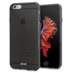 Olixar FlexiShield iPhone 6 Gel Hülle in Rauch Schwarz