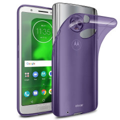 Custom moulded for the Motorola Moto G6 this purple FlexiShield case by Olixar provides slim fitting and durable protection against damage.
