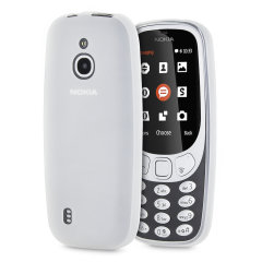Custom moulded for the Nokia 3310 3G (2017), this FlexiShield gel case in frost white provides excellent protection against damage, as well as a slimline fit for added convenience.