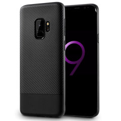 Olixar Carbon Fibre case is a perfect choice for those who need both the looks and protection! A flexible TPU material is paired with an eye-catching carbon print to make sure your Samsung Galaxy S9 is well-protected and looks good in any setting.