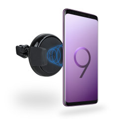 Samsung Galaxy S9 Plus Qi Wireless Charging Car Vent Holder