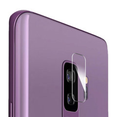 This 2 pack of ultra-thin tempered glass rear camera protectors for the Samsung Galaxy S9 Plus from Olixar offers toughness and superb clarity for your photography all in one package.