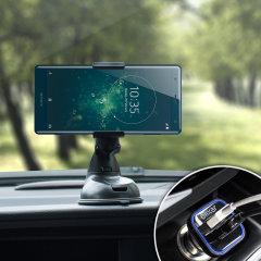 Olixar DriveTime Sony Xperia XZ2 Bilhållare & Laddare