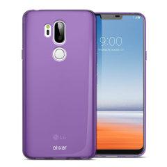 Olixar FlexiShield LG G7 Gel Case - Purple