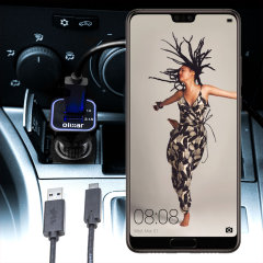 Olixar High Power Huawei P20 KFZ Ladekabel