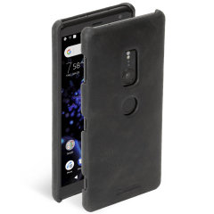 Krusell Sunne Sony Xperia XZ2 Leather Case - Black