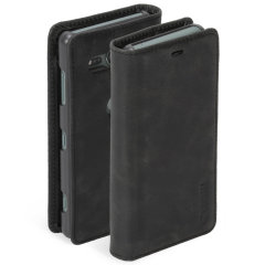 Krusell Sunne 2 Card Sony Xperia XZ2 Compact Folio Wallet Case - Black