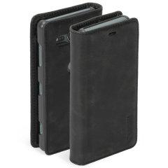 Krusell Sunne 2 Card lederen hoes combineert Nordic chic met Krusell's waarden van duurzame productie voor de sociaalbewuste Sony Xperia XZ2 Compact-bezitter die 360° bescherming zoekt met extra opslagruimte voor contant geld of kaarten.