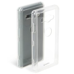 This 100% clear slim shell case made of polycarbonate and TPU provides durable protection for your Sony Xperia XZ2 Compact, while maintaining its slender profile.