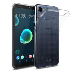 Olixar Ultra-Thin HTC Desire 12 Gel Case - 100% Clear