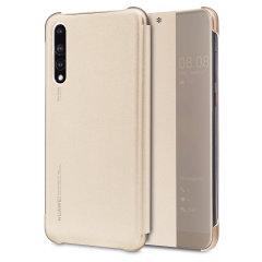 Perfekt för att kontrollera alla dina notifikationer. Nu kan du se tiden och inkommande samtal utan att öppna fodralet. Det officiella Huawei View Flip-fodralet till Huawei P20 Pro är elegant och tillverkat av de finaste materialen, samtidigt som det ger skydd till skärmen tack vare locket.