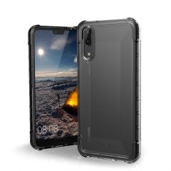 The Urban Armour Gear Plyo semi-transparent tough case in ice clear and ash for the Huawei P20 features reinforced Air-Soft corners and an optimised honeycomb structure for superior drop and shock protection.