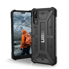 The Urban Armour Gear Plasma semi-transparent tough case in Ash grey and black for the Huawei P20 features a protective case with a brushed metal UAG logo insert for an amazing rugged and stylish design.
