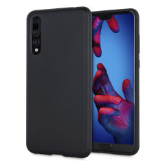 Custom moulded for the Huawei P20 Pro, this matte black Thin Gel case provides slim fitting and durable protection against damage.