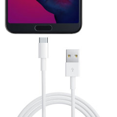 Official Huawei P20 Pro Super Charge USB-C Cable 1m -  White