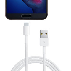 Cable USB-C officiel Huawei P20 Super Charge 1M - Blanc