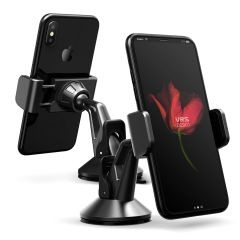 VRS Design Hybrid Grab Mini Universal In-Car Mount - Metal Black
