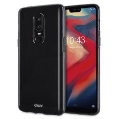 Custom moulded for the OnePlus 6, this Solid Black FlexiShield case from Olixar provides a slim fitting and durable protection against damage, with an alluring jet black appearance.