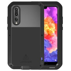 Protect your Huawei P20 Pro with one of the toughest and most protective cases on the market, ideal for helping to prevent possible damage from water and dust, this is the black Love Mei Powerful Protective Case.