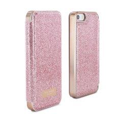 Ted Baker Pritsie iPhone SE Mirror Folio Case - Rose Gold