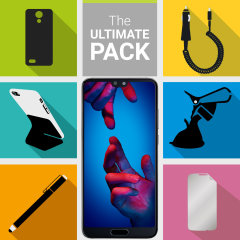 The Ultimate Pack for the Huawei P20 consists of fantastic must have accessories designed specifically for the P20.