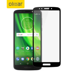 This ultra-thin full cover tempered glass screen protector for the Motorola Moto G6 Play offers toughness, high visibility and sensitivity all in one package.
