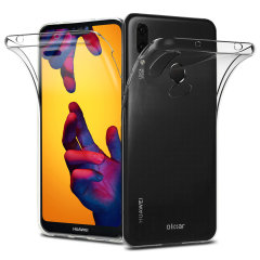 Olixar FlexiCover Complete Protection Huawei P20 Lite Gel Hülle - Klar