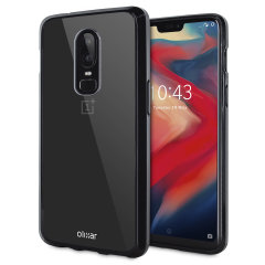 Olixar ExoShield Tough Snap-on OnePlus 6 Case - Black