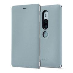 Qualitative Tasche für das Sony Xperia XZ2 Premium bietet Schutz vor Schmutz und Kratzern. Mit der integrierten Standfunktion kann das Sony Xperia XZ2 in eine bequeme Position aufgestellt werden.