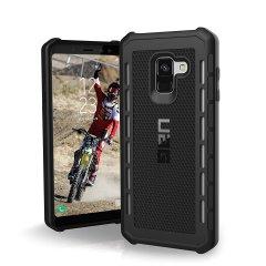 UAG Outback Samsung Galaxy A8 Plus 2018 Protective Case - Black