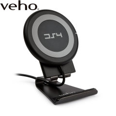 Wirelessly charge your compatible device rapidly with the Veho DS-4 universal wireless fast charging pad. With Qi 1.2 technology and the included magnetic stand, you can fast charge your device vertically or horizontally without wires being a nuisance.