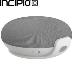 Designed exclusively for the Google Home Mini, this white wall mount by Incipio will further complement the sleek design of your Google Home Mini, while helping to integrate it into any room in your home.