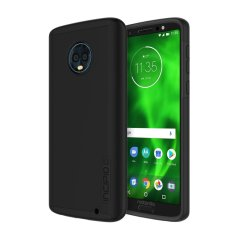The Incipio DualPro in black wraps your Motorola Moto G6 Plus in multi-layered & military-grade protection, all topped with a premium finish. Features a strong and durable Plextronium frame, which offers effective protection against bumps and drops.