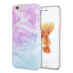 LoveCases Marble iPhone 6S Case - Dream Pink