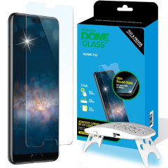 Die Dome Glas Displayschutzfolie für Huawei P20 von Whitestone verwendet eine proprietäre UV-Kleberinstallation, um eine perfekte Passform für Ihr Gerät zu gewährleisten. Auch mit 9H Härte für absoluten Schutz, sowie 100% Touch Sensitivity Retention
