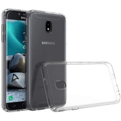 Custom moulded for the Samsung Galaxy J3 2018. This clear Olixar ExoShield tough case provides a slim fitting stylish design and reinforced corner shock protection against damage, keeping your device looking great at all times.