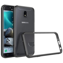 Custom moulded for the Samsung Galaxy J3 2018. This black Olixar ExoShield tough case provides a slim fitting stylish design and reinforced corner shock protection against damage, keeping your device looking great at all times.
